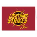 "The Flash | ""Lightning Strikes"" Graphic Card"