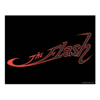 The Flash Logo Red Postcard