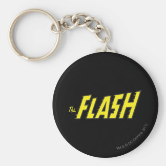 The Flash Logo Yellow Keychain