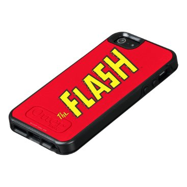 The Flash Logo Yellow OtterBox iPhone 5/5s/SE Case