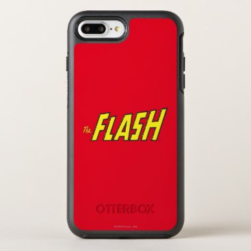 The Flash Logo Yellow OtterBox Symmetry iPhone 8 Plus/7 Plus Case