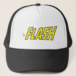 The Flash Logo Yellow Trucker Hat