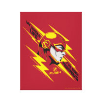 The Flash | My Whole Life I've Been Running Canvas Print