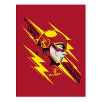 The Flash | My Whole Life I've Been Running Postcard