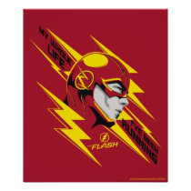 The Flash | My Whole Life I've Been Running Poster