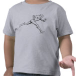 The Flash Running Outline Tshirts