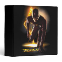 The Flash | Sprint Start Position 3 Ring Binder