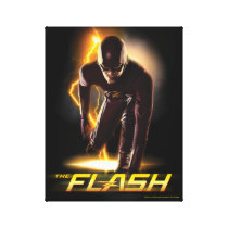 The Flash | Sprint Start Position Canvas Print