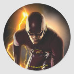 The Flash | Sprint Start Position Classic Round Sticker