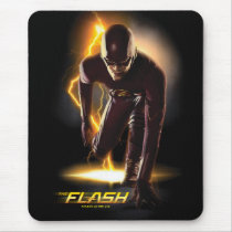 The Flash | Sprint Start Position Mouse Pad