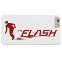 The Flash | Super Hero Name Logo Barely There iPhone 6 Plus Case