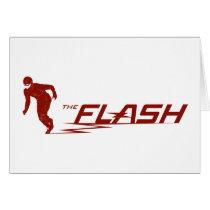The Flash | Super Hero Name Logo Card