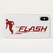 The Flash | Super Hero Name Logo iPhone X Case