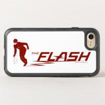 The Flash | Super Hero Name Logo OtterBox Symmetry iPhone 8/7 Case