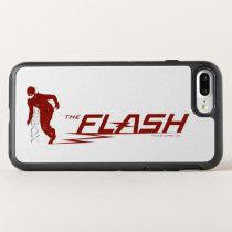 The Flash | Super Hero Name Logo OtterBox Symmetry iPhone 8 Plus/7 Plus Case