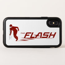 The Flash | Super Hero Name Logo OtterBox Symmetry iPhone X Case