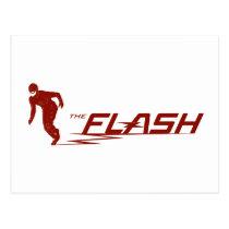 The Flash | Super Hero Name Logo Postcard