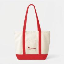 The Flash | Super Hero Name Logo Tote Bag