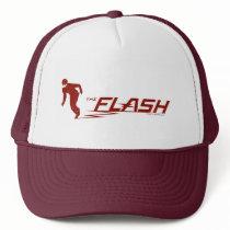 The Flash | Super Hero Name Logo Trucker Hat
