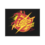 The Flash | The Fastest Man Alive Canvas Print