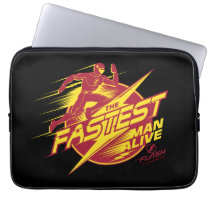 The Flash | The Fastest Man Alive Computer Sleeve