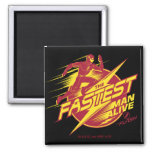 The Flash | The Fastest Man Alive Magnet