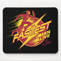 The Flash | The Fastest Man Alive Mouse Pad