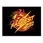 The Flash | The Fastest Man Alive Postcard