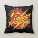 The Flash | The Fastest Man Alive Throw Pillow