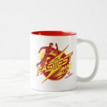 The Flash | The Fastest Man Alive Two-Tone Coffee Mug