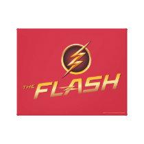 The Flash | TV Show Logo Canvas Print