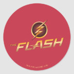 The Flash | TV Show Logo Classic Round Sticker