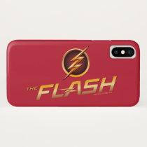 The Flash | TV Show Logo iPhone X Case
