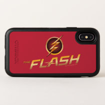 The Flash | TV Show Logo OtterBox Symmetry iPhone X Case