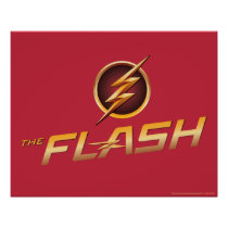 The Flash | TV Show Logo Poster