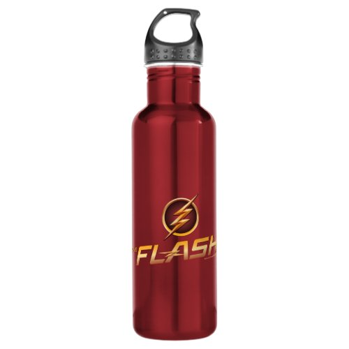 The Flash   TV Show Logo Stainless Steel Water Bottle