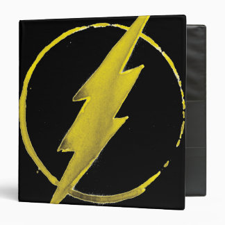 The Flash | Yellow Chest Emblem 3 Ring Binder