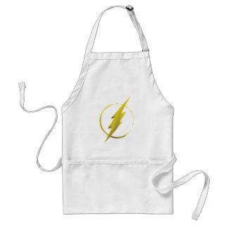 The Flash   Yellow Chest Emblem Adult Apron