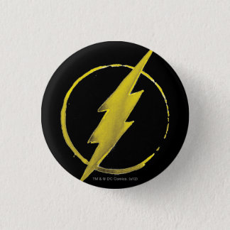 The Flash   Yellow Chest Emblem Button