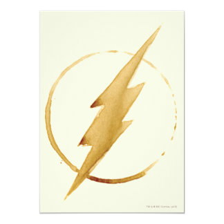 The Flash   Yellow Chest Emblem Card