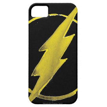 The Flash | Yellow Chest Emblem iPhone SE/5/5s Case