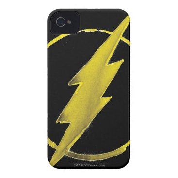 The Flash | Yellow Chest Emblem iPhone 4 Case-Mate Case