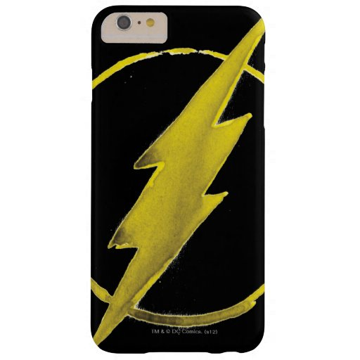 The Flash   Yellow Chest Emblem Barely There iPhone 6 Plus Case