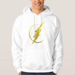 The Flash   Yellow Chest Emblem Hoodie