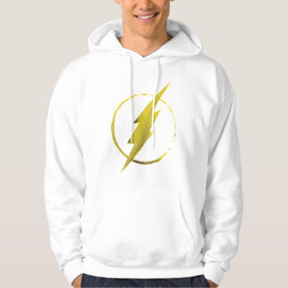 The Flash | Yellow Chest Emblem Hoodie