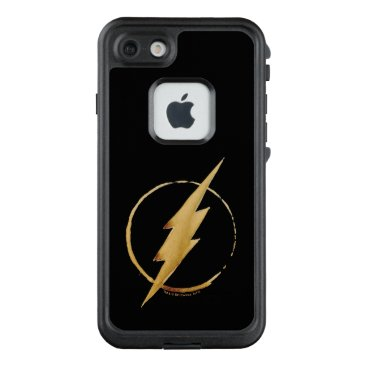 USA Themed The Flash | Yellow Chest Emblem LifeProof FRĒ iPhone 7 Case