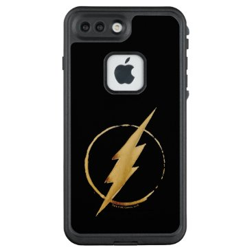 USA Themed The Flash | Yellow Chest Emblem LifeProof FRĒ iPhone 7 Plus Case