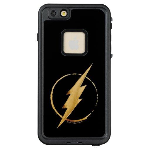 The Flash | Yellow Chest Emblem LifeProof FRĒ iPhone 6/6s Plus Case