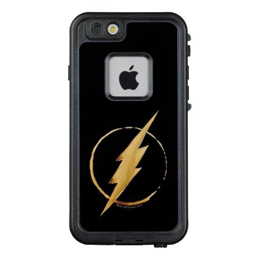 The Flash | Yellow Chest Emblem LifeProof FRĒ iPhone 6/6s Case