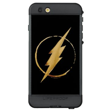 USA Themed The Flash | Yellow Chest Emblem LifeProof NÜÜD iPhone 6s Plus Case